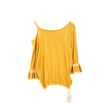 Wool knitwear Summer of 2019 L,M,S Yellow, white singleton  other More than 95%
