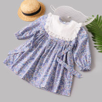 Dress blue female Other / other Size 80 [recommended height 80cm] , Size 90 [recommended height 90cm] , 100 yards [recommended height 100cm] , 110 yards [recommended height 110cm] , 120 yards [recommended height 120cm] , 130 yards [recommended height 125cm] , 140 yards [recommended height 130cm]