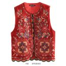Vest Spring 2020 Picture color S,M,L routine street No buckle Embroidery, sequins