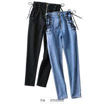 Jeans Spring 2020 XS,S,M,L,XL trousers High waist Pencil pants routine