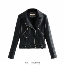 leather clothing Other / other Autumn 2020 S,M,L,XL Black [W2006], off white [W2006], pink [W2006], green [W2006] have cash less than that is registered in the accounts Long sleeves Self cultivation street zipper PU 81% (inclusive) - 90% (inclusive)