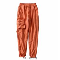 Casual pants S,M,L Spring 2020 trousers Overalls Natural waist street Thin money Europe and America