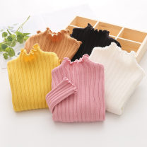 Sweater / sweater 90cm,100cm,110cm,120cm,130cm,140cm,150cm other female Off white, black, khaki, yellow, pink, bright yellow Shell element princess No model Socket routine High collar nothing Ordinary wool other my1404 Class B 2, 3, 4, 5, 6, 7, 8, 9, 10, 11, 12, 13, 14 years old