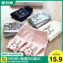 trousers Shell element female 90cm,100cm,110cm,120cm,130cm,140cm summer trousers Korean version No model Casual pants Don't open the crotch 2, 3, 4, 5, 6, 7, 8, 9, 10, 11, 12, 13, 14 years old