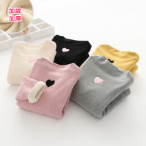 T-shirt Black, gray, yellow, beige, pink Shell element 90cm,100cm,110cm,120cm,130cm,140cm,150cm female winter Long sleeves Korean version No model nothing other other tx9180 2, 3, 4, 5, 6, 7, 8, 9, 10, 11, 12, 13, 14 years old