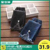 trousers Shell element female 90cm,100cm,110cm,120cm,130cm,140cm,150cm Dark blue, smoky grey spring and autumn trousers Korean version No model Casual pants Leather belt other Don't open the crotch kza053 2, 3, 4, 5, 6, 7, 8, 9, 10, 11, 12, 13, 14 years old