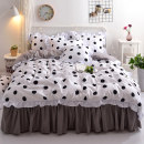 Bedding Set / four piece set / multi piece set Others other Others 128x68 Jroye / jinluyi Others 4 pieces 40 First Grade Korean style twill Reactive Print  bd001