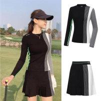 Golf apparel S. M, l, XL, one size fits all female golf Long sleeve T-shirt