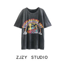 T-shirt Coal grey S,M,L Spring 2021 Short sleeve Crew neck easy Regular street other 51% (inclusive) - 70% (inclusive) Europe and America