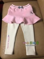trousers Other / other female 110cm,120cm,130cm,140cm,150cm Pink winter trousers P256358 2, 3, 4, 5, 6, 7, 8, 9, 10 years old