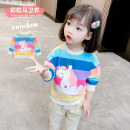Sweater / sweater Mikir / mikir blue female 80cm 90cm 100cm 110cm 120cm 130cm spring and autumn nothing Korean version Socket routine There are models in the real shooting cotton Cartoon animation Cotton 95% other 5% MXMYC440 Class A Cotton liner Spring 2021