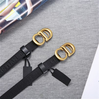 Belt / belt / chain canvas 2.0 fabric pattern female belt Versatile Single loop Youth, youth Smooth button letter printing 2.0cm alloy letter 90cm,95cm,100cm,105cm,110cm,115cm