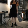 skirt Spring 2021 S [90-100kg], m [100-110kg], l [110-120kg], XL [120-135kg], 2XL [135-150kg], 3XL [150-165kg], 4XL [165-175kg], 5XL [175-200kg] Black, white Short skirt commute High waist A-line skirt Solid color Type A 18-24 years old Coardiarn / Kuandian Korean version