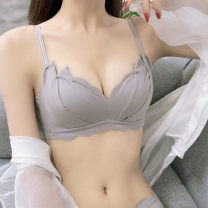 Bras Black, white, gray, pink, black suit, white suit, gray suit, pink suit, collection plus purchase, priority delivery 32/70A,34/75A,36/80A,38/85A,32/70B,34/75B,36/80B,38/85B Type V Fixed shoulder strap Rear three row buckle Wireless  3/4 Other / other Girls (18-25 years old) Gather together sexy