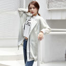 Windbreaker Autumn of 2019 M L XL XXL Grey bean green routine Medium length commute Self cultivation Fragrance of orchid XC-DK2311-ZJS 96% and above polyester fiber Polyester 100% Pure e-commerce (online only)