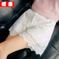 Leggings Summer of 2018 White - Double lace sunflower Shorts Black - Double lace sunflower shorts Average size Thin money shorts Yingxi other Pure e-commerce (online only) Other 100%
