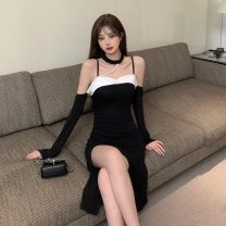 Dress Summer 2021 Picture color S, M Mid length dress singleton  Sleeveless commute other other Socket other other camisole 18-24 years old Korean version 31% (inclusive) - 50% (inclusive)