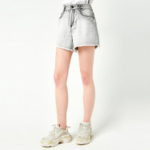 Casual pants Pigeon grey S M L XL Summer 2021 shorts Straight pants Natural waist routine 30-34 years old OS1930130905 OTT Cotton 100%