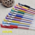 Roller ball pen CJ-99 CJ Вспышка 12 цветных ручек Вспышка 12 цветных ручек 1.0мм Другие / другие Twelve Рисование, ежедневное письмо нет Другие студенты Анти-усталость пластик