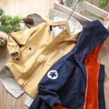 Plain coat Other / other male 110cm,120cm,130cm,140cm,150cm,160cm spring and autumn leisure time Zipper shirt routine No detachable cap cotton Class B