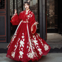Hanfu 96% and above Summer 2020 XS,S,M,L,XL polyester fiber