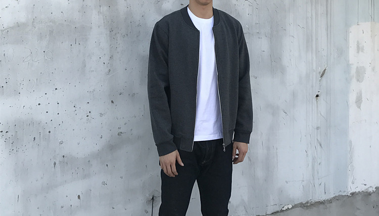 Jacket Other / other Youth fashion Grey S M L XL 2XL Self cultivation motion autumn
