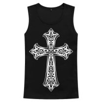 Vest / vest Youth fashion Zemf / zema square 150/XXS 155/XS 165/S 170/M 175/L 180/XL 185/2XL 190/3XL Black black 2 White 3 white 4 Other leisure easy Sweat vest routine summer Crew neck teenagers 2018 tide ZMFZ18012609 other No button, no zipper other Polyester 100% No iron treatment Spring of 2018
