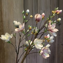 Artificial flower Silk flower flowers and plants Floor flowers hanging wall flowers hanging basket flowers placing flowers White light blue pink orchid Yilu SGSTYL