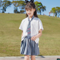 suit Han you 130cm 140cm 150cm 160cm 170cm female summer Korean version Short sleeve + pants Thin money There are models in the real shooting Socket nothing Solid color other children Travel X60 Class B Other 100% Summer 2021 Chinese Mainland Zhejiang Province Taizhou City