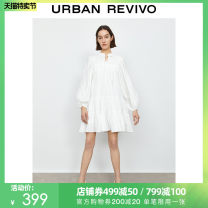 Dress Summer 2021 Benbai S XL L M Mid length dress 25-29 years old UR YL06S7AE2000 More than 95% cotton Cotton 100% Same model in shopping mall (sold online and offline)