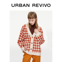 Wool knitwear Spring 2020 S XS L M Burnt orange light blue Long sleeves acrylic fibres 31% (inclusive) - 50% (inclusive) Regular YU01S9DF2004 25-29 years old UR Same model in shopping mall (sold online and offline)
