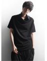 T-shirt Youth fashion black routine XXXXL M L XL 2XL 3XL Others Short sleeve Pile collar standard daily summer routine Cotton ammonia