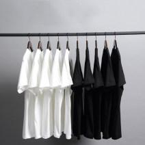 T-shirt White, black, apricot S,M,L,XL Summer of 2018 Short sleeve Crew neck easy Regular routine commute cotton 51% (inclusive) - 70% (inclusive)