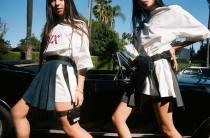 skirt Spring 2017 S code, M code Navy (in stock) Short skirt other