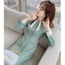 Fashion suit Summer 2021 S M L XL Dress 25-35 years old Princess Tina DN5147 Polyethylene terephthalate (polyester) 99% other 1%