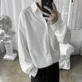 shirt Fashion City Others S. M, l, XL, 2XL, 3XL, XS plus small White, gray, black, green, blue routine square neck Long sleeves easy Other leisure summer youth Exquisite Korean style 2020 Color woven fabric No iron treatment polyester fiber Arrest line Easy to wear 90% (inclusive) - 95% (inclusive)