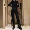 Casual suit Autumn 2020 BLACK BODYSUIT, black pants (belt), bodysuit + black pants (belt), belly strap + black pants (belt) S,M,L,XL 18-25 years old 81% (inclusive) - 90% (inclusive)