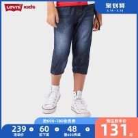 trousers middle-waisted Rubber belt Class B Summer of 2019 7, 8, 9, 10, 11, 12, 13, 14 Levi's / Levi's male Cropped Trousers Guangdong Province spring and autumn Casual pants Dongguan City There are models in the real shot leisure time other Don't open the crotch Cotton 74% polyester 26% 92621HC010