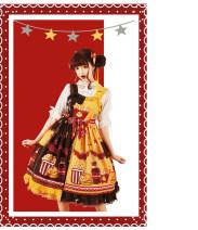 Dress Summer 2020 Monochrome yellow, monochrome brown, yellow brown color matching, brown red color matching 0, 1