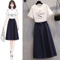Fashion suit Spring 2021 Average size White top blue skirt white top + blue skirt Mogge / mogge MG21A0298 Other 100% Pure e-commerce (online only)