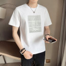 T-shirt Youth fashion Tx88045 white tx88045 black tx88045 gray thin M L XL 2XL 3XL 4XL Rambo Short sleeve Crew neck easy motion summer TX88045 Cotton 79% polyester 21% routine tide Summer 2021 cotton No iron treatment Pure e-commerce (online only) 70% (inclusive) - 79% (inclusive)