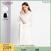 woolen coat Winter 2020 165 155 160 170 175 Ivory white black wool 51% (inclusive) - 70% (inclusive) have more cash than can be accounted for Long sleeves double-breasted square neck Solid color SFJWA4T15Q SCOFIELD 30-34 years old Wool 53% Lyocell 30% polyamide 17%