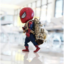 Doll / Ornament / hardware doll goods in stock Spider man Backpack Movies U.S.A PVC Marvel comic series Collection Spider-Man