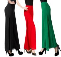 Casual pants Spring 2017 Flared trousers High waist original Thin money 96% and above