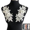 lace Sky blue, black, red, gray, blue, pink, apricot, white Jinsheng gold ornament Pavilion collar