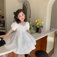 Dress Ins white female Other / other 90cm,100cm,110cm,120cm,130cm,140cm Other 100% summer princess Long sleeves Solid color other Princess Dress A419 Class A 12 months, 18 months, 2 years old, 3 years old, 4 years old, 5 years old, 6 years old, 7 years old, 8 years old, 9 years old, 10 years old