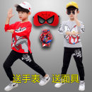 suit Jufoya / zhifeiya Gray white red blue 100cm 110cm 120cm 130cm 140cm 150cm male spring and autumn Cartoon Long sleeve + pants 2 pieces routine There are models in the real shooting Socket nothing Cartoon animation cotton friend birthday a01161 Class B Spring 2021 Chinese Mainland Guangzhou City