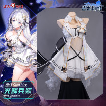 Cosplay women's wear suit Pre sale Over 14 years old [pre sale] brilliant songsuit of blue line [special package for new products in limited time] [pre sale limited time price: 469, spot price: 519] S M L average code You Wo Wo Guanghui songsuit