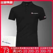 Polo shirt Said the champion Fashion City routine M,L,XL,2XL,3XL,4XL,5XL Self cultivation Other leisure summer Short sleeve Basic public routine youth Cotton 95% polyurethane elastic fiber (spandex) 5% 2020 Alphanumeric cotton No iron treatment Hot stamping More than 95%