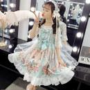 Dress female Princess Jinxiu 110cm 120cm 130cm 140cm 150cm 160cm Other 100% summer solar system Short sleeve other other Cake skirt JXGZ-2020LYQ19 other Summer 2020 Chinese Mainland Zhejiang Province Huzhou City